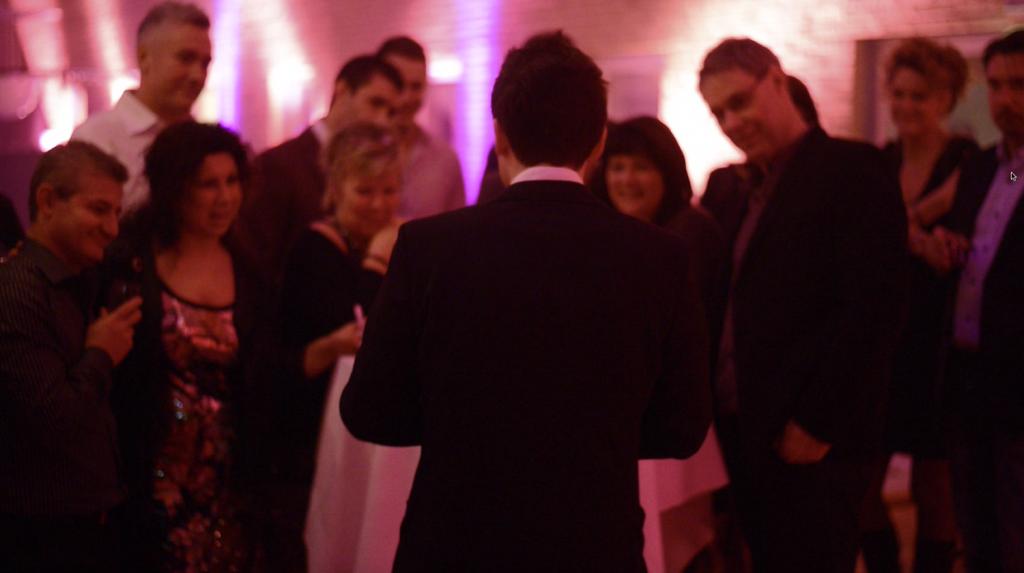 magician for wedding